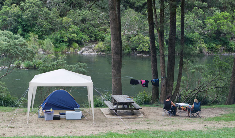Platypus Flat campground - Tourism TAS