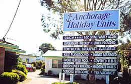Anchorage Holiday Units - Tourism TAS
