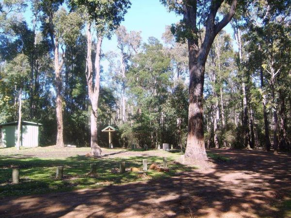Workmans Pool Camp at St John Brook National Park - Tourism TAS