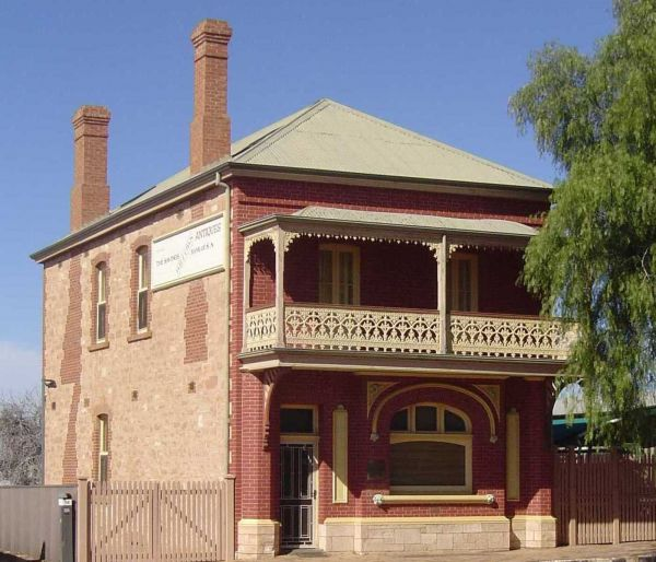 Savings Bank of South Australia - Old Quorn Branch - Tourism TAS