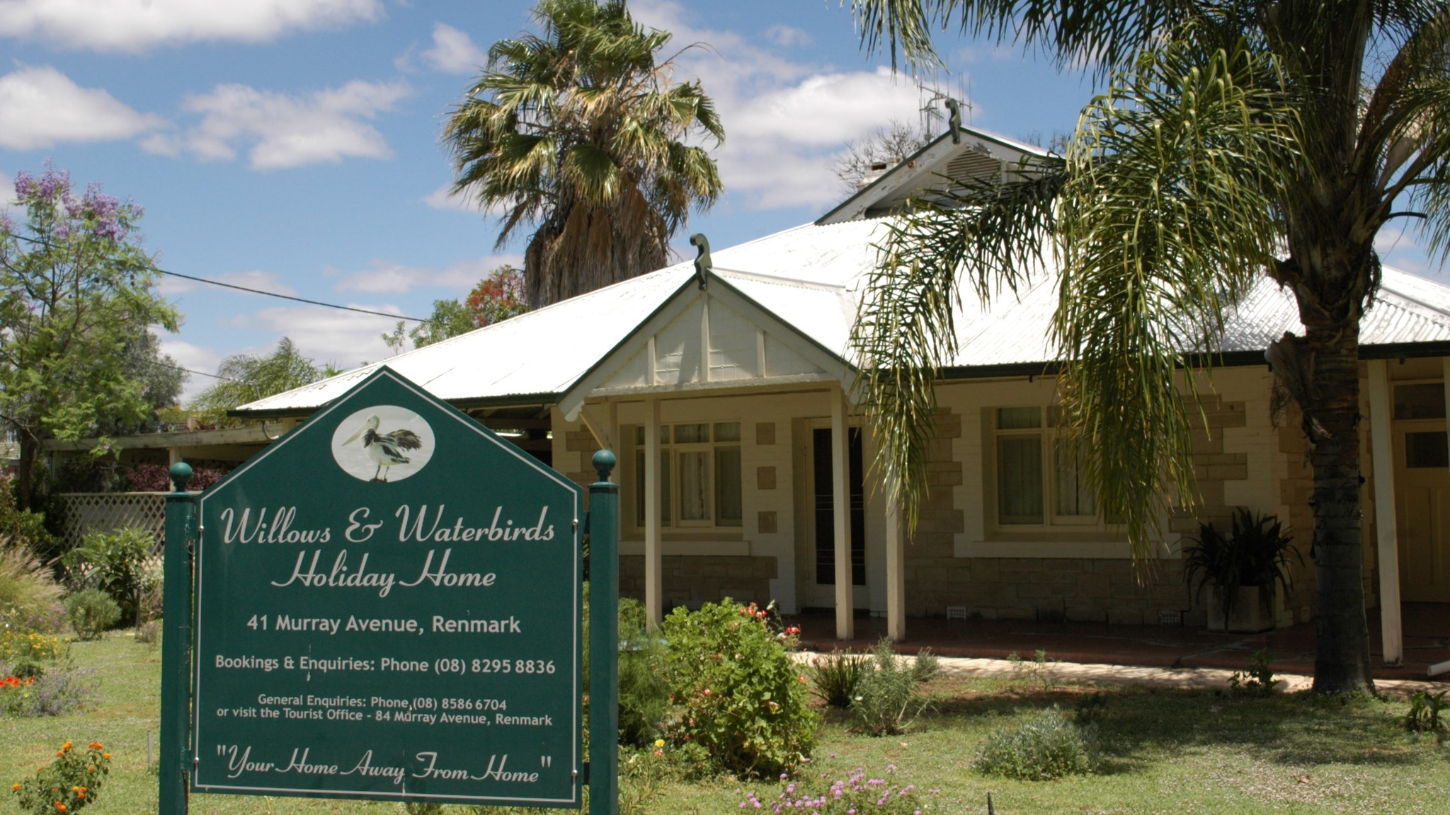 Renmark Holiday Home Willows  Waterbirds - Tourism TAS