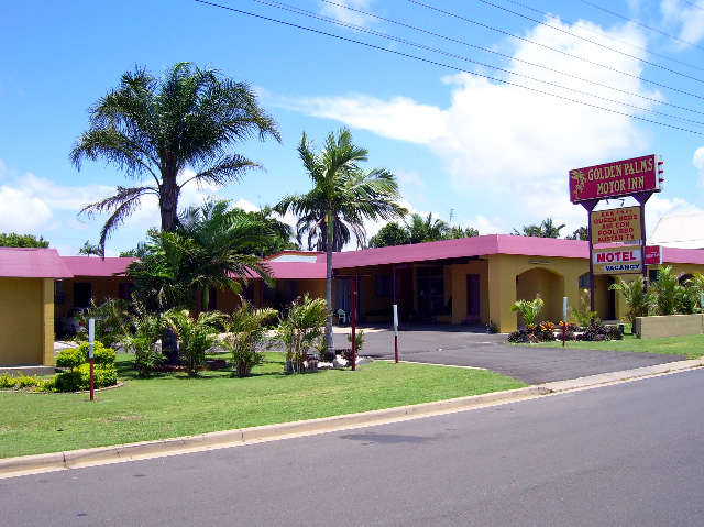 Golden Palms Motor Inn - Tourism TAS