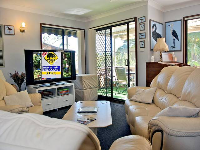 WOMBATS BB - Apartments - AAA 3.5 rated Gosford - Tourism TAS