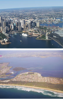 Sydney By Air - Tourism TAS