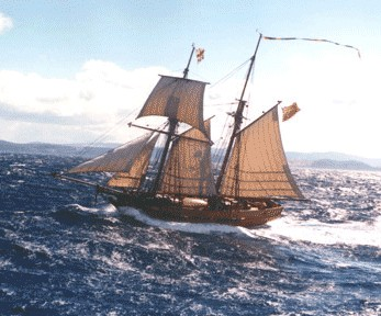 Enterprize - Melbourne's Tall Ship - Tourism TAS