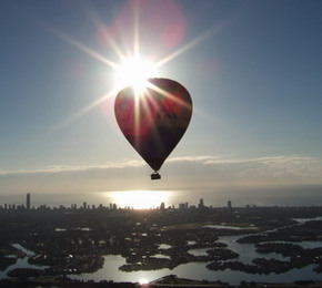 Balloon Down Under - Tourism TAS
