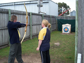 Bairnsdale Archery Mini Golf  Games Park - Tourism TAS