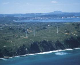 Albany Wind Farm - Tourism TAS