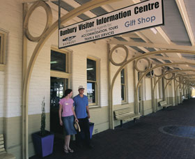 Old Railway Station Bunbury - Tourism TAS