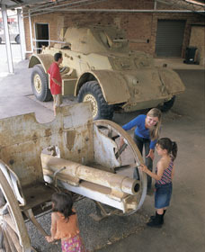 Goldfields War Museum - Tourism TAS