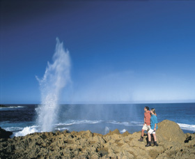 The Blowholes Carnarvon - Tourism TAS