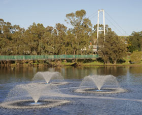 Suspension Bridge - Tourism TAS