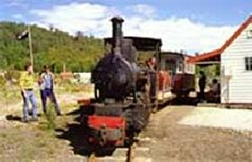 Wee Georgie Wood Steam Railway - Tourism TAS