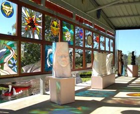 Alpha31 Art Gallery and Sculpture Garden - Tourism TAS