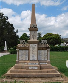 Boer War Memorial and Park