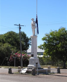 Aramac War Memorial - Tourism TAS