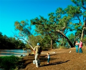 Charleville - Dillalah Warrego River Fishing Spot - Tourism TAS