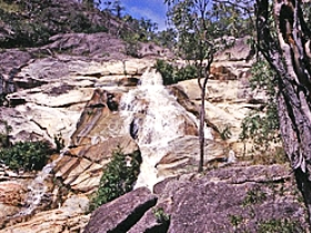 Emerald Creek Falls - Tourism TAS