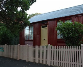 19th Century Portable Iron Houses - Tourism TAS