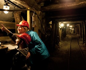 State Coal Mine - Tourism TAS