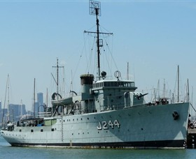 HMAS Castlemaine Museum Ship - Tourism TAS