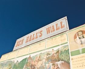Ben Hall Wall - Tourism TAS