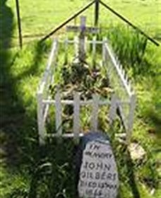 Johnny Gilberts Grave - Tourism TAS