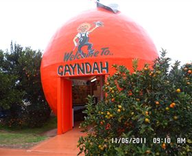 Gayndahs Big Orange - Tourism TAS