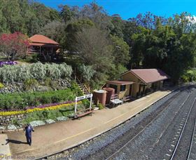 Spring Bluff Railway Station - Tourism TAS