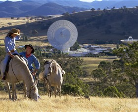 Canberra Deep Space Communication Complex - Tourism TAS
