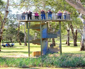 Darling and Murray River Junction and Viewing Tower - Tourism TAS