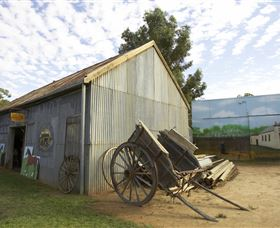 The Ned Kelly Blacksmith Shop - Tourism TAS