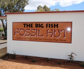 Big Fish Fossil Hut at Peak Hill