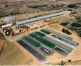 Co-operative Bulk Handling CBH Wheat Storage and Transfer Depot - Tourism TAS