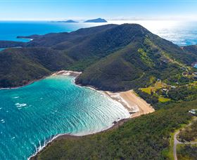 Basil Bay on Keswick Island - Tourism TAS