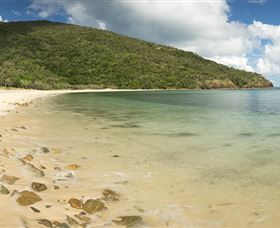 Connie Bay on Keswick Island - Tourism TAS
