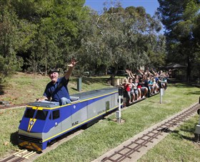 Willans Hill Miniature Railway - Tourism TAS