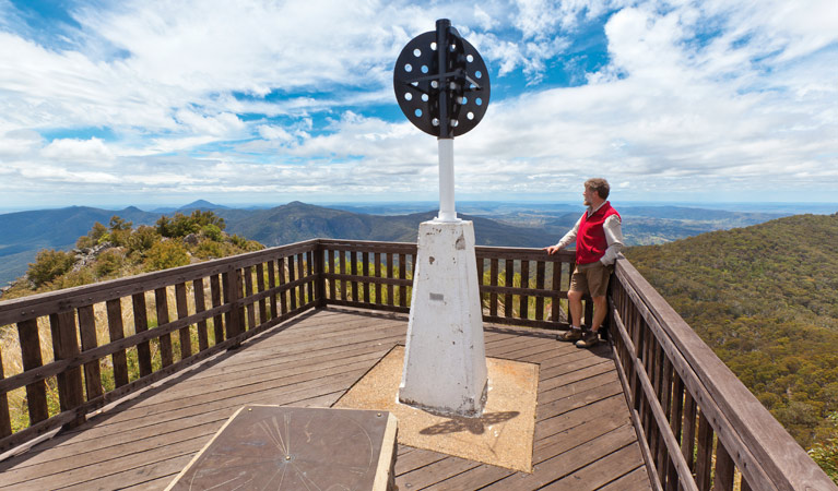Mount Kaputar summit walk - Tourism TAS