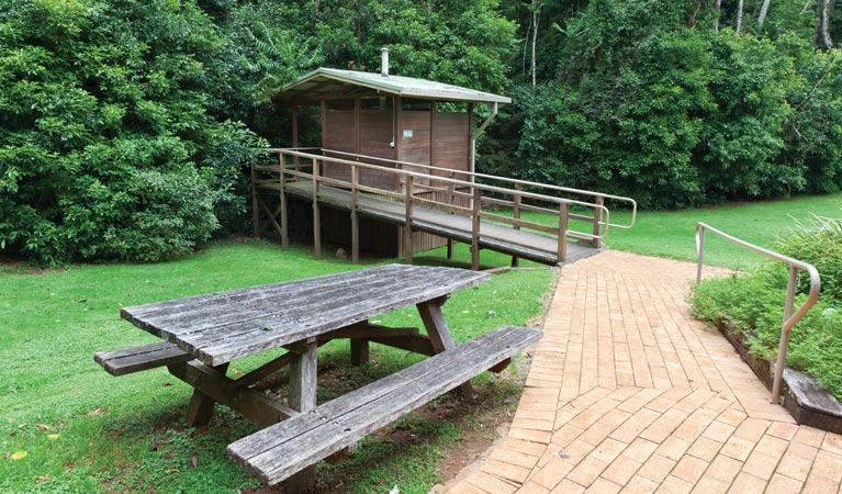 The Glade picnic area - Tourism TAS
