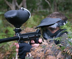 Tactical Paintball Games - Tourism TAS