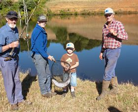 Natone Hills Fly Fishery - Tourism TAS