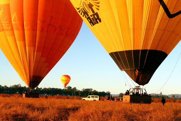 Hot Air Balloon Scenic Rim - Tourism TAS