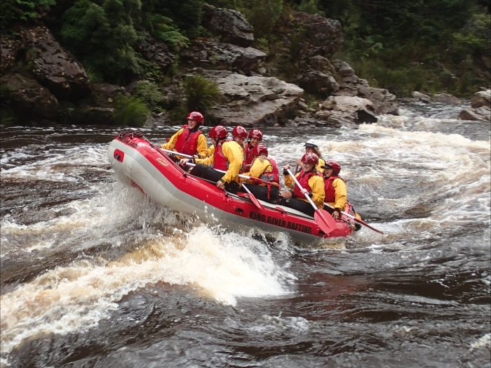 King River Rafting - Tourism TAS