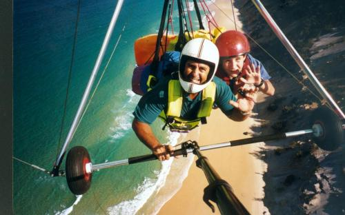 David CookmanSunshine Coast Hang Gliding - Tourism TAS