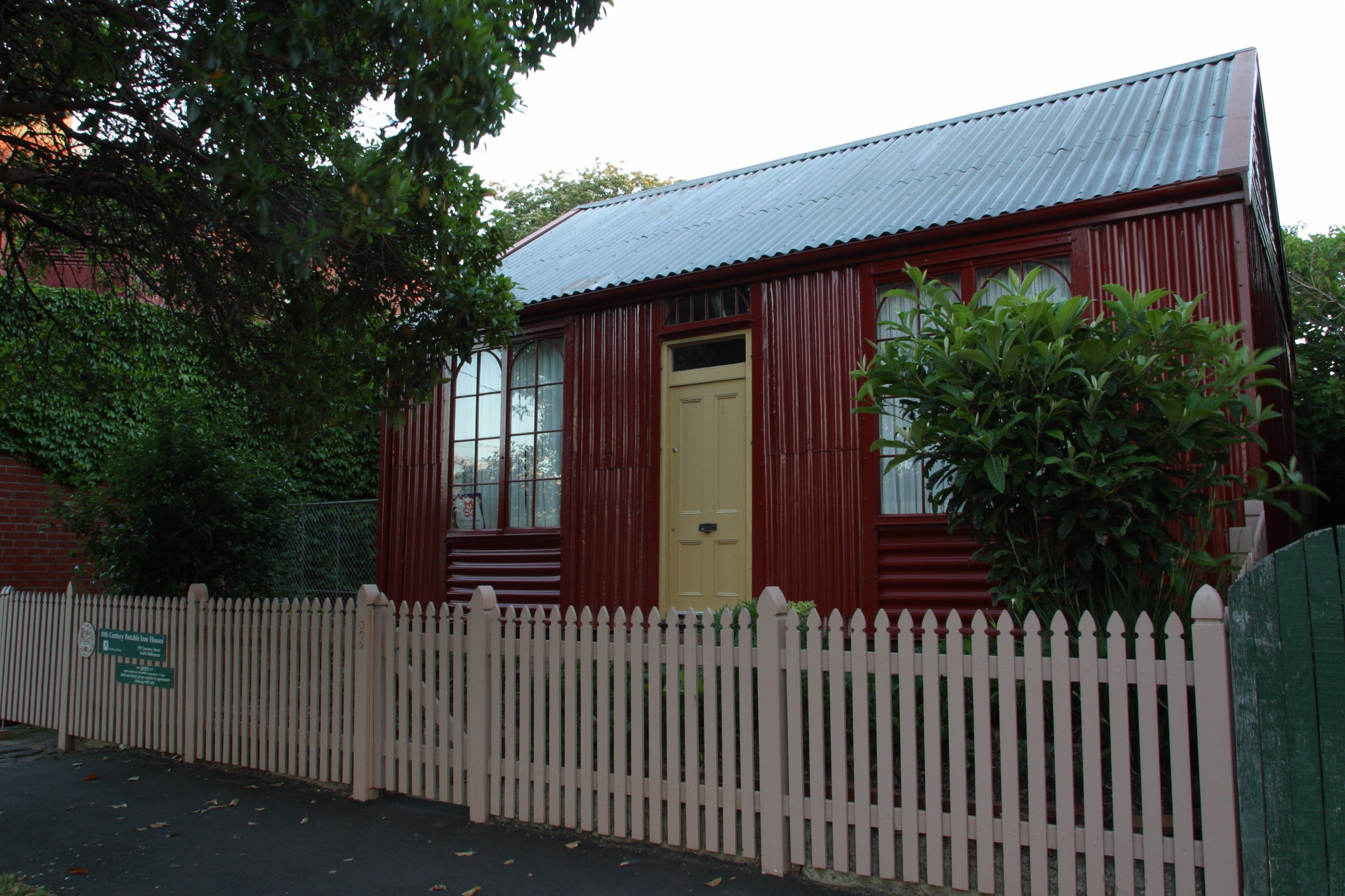 Portable Iron Houses - Tourism TAS