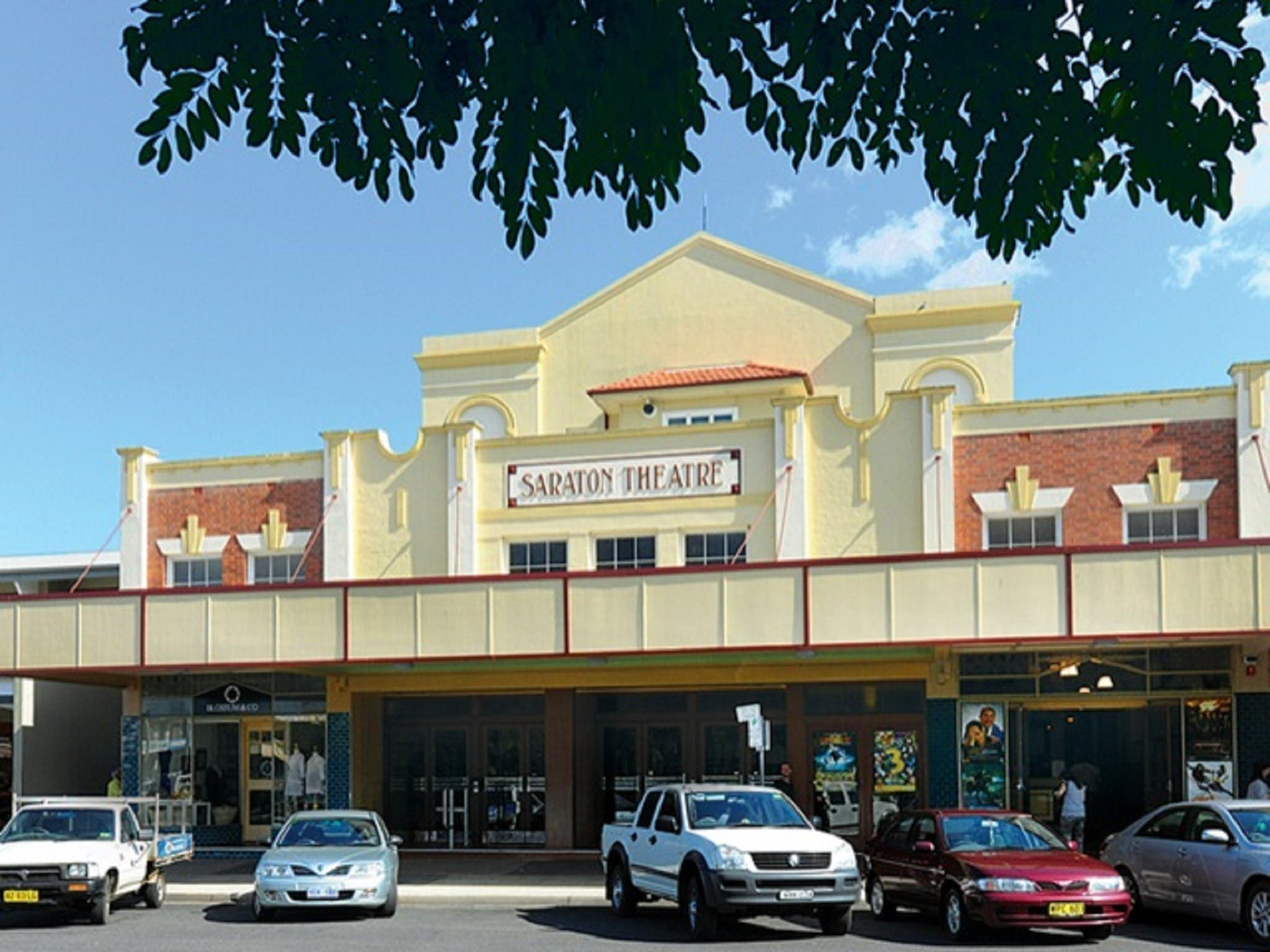 The Saraton Theatre Grafton - Tourism TAS