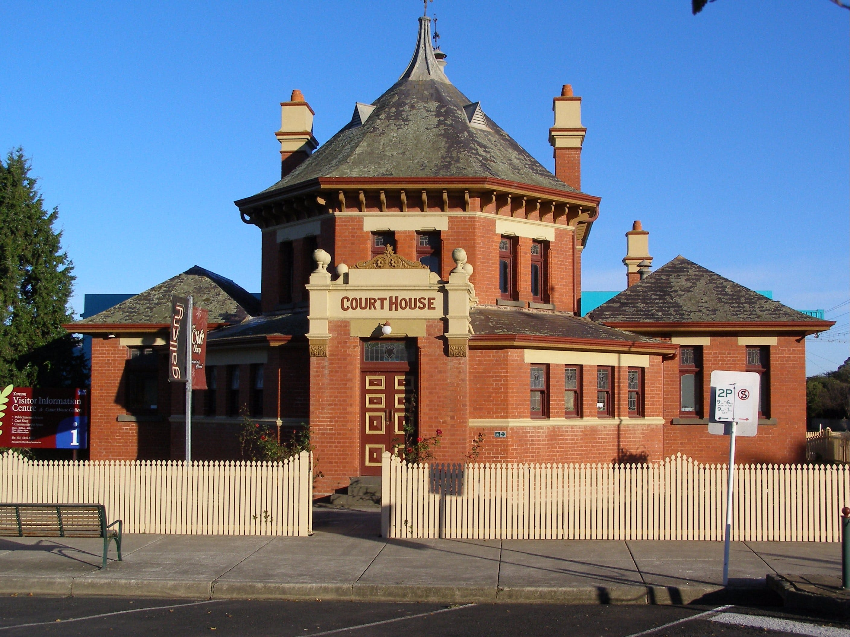 Yarram Courthouse Gallery - Tourism TAS