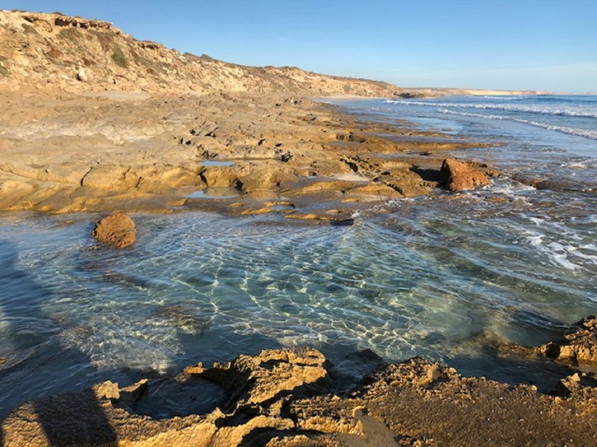 Streaky Bay - Back Beach - Tourism TAS