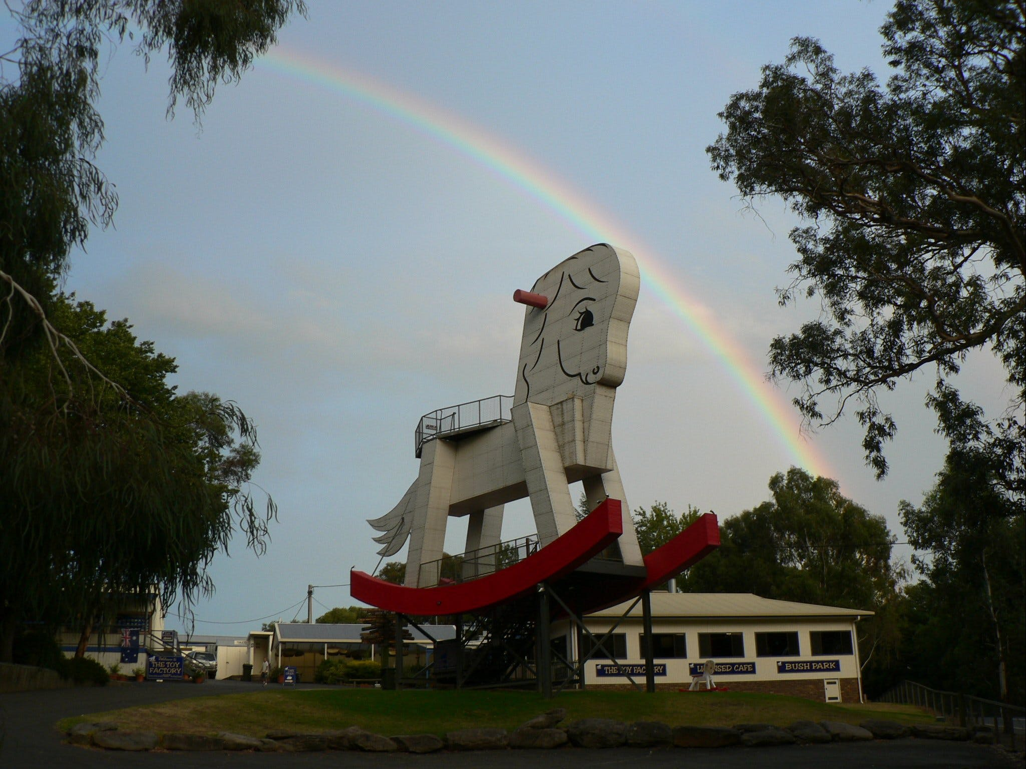 The Big Rocking Horse And The Toy Factory - Tourism TAS