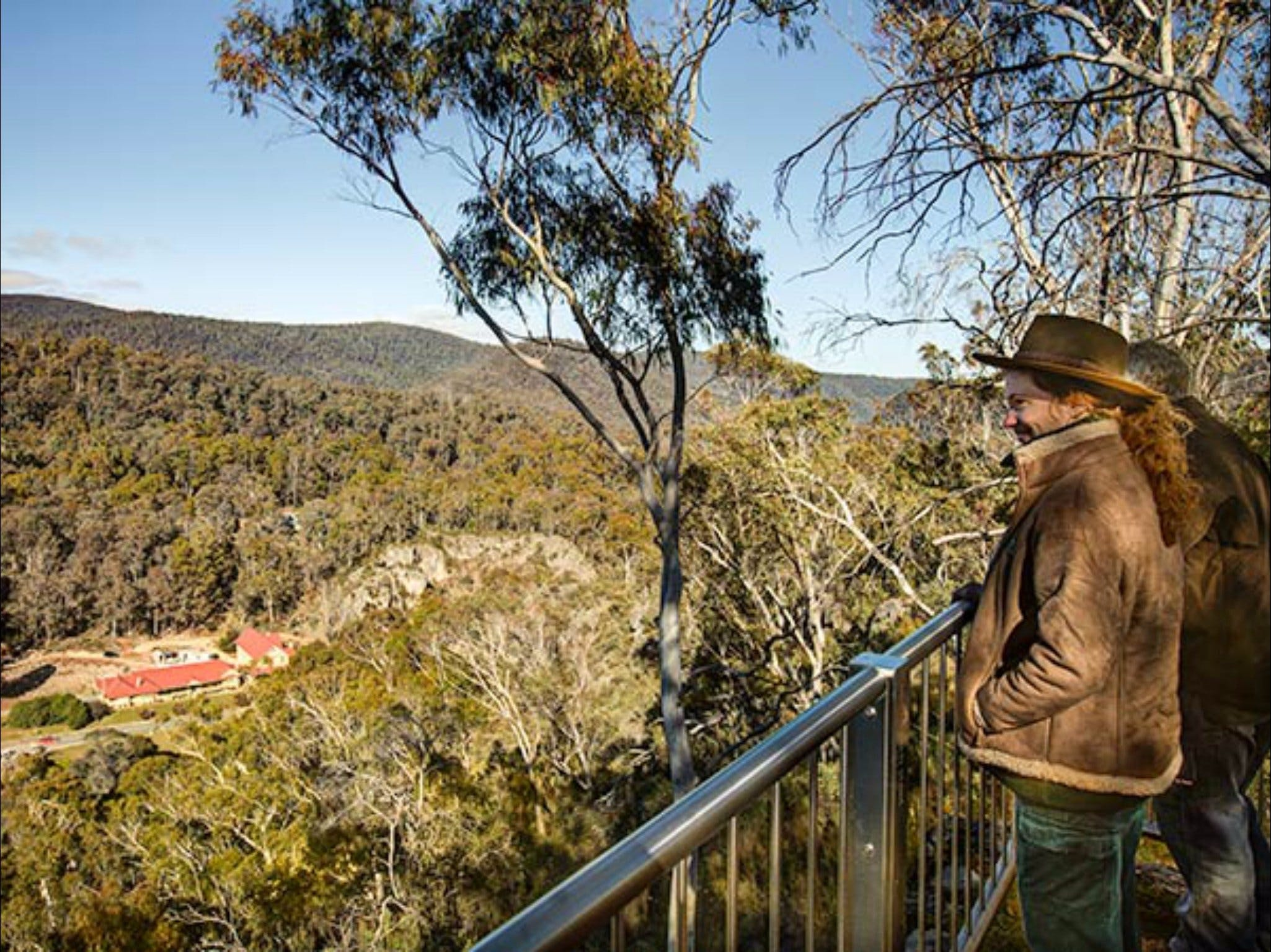 Yarrangobilly Caves  Bluff lookout walk - Tourism TAS